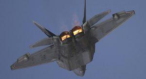 US Air Force F-22 Raptor operate (06 01 2018)
