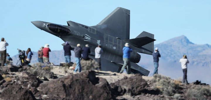 RNLAF F-35 Star on Wars Canyon