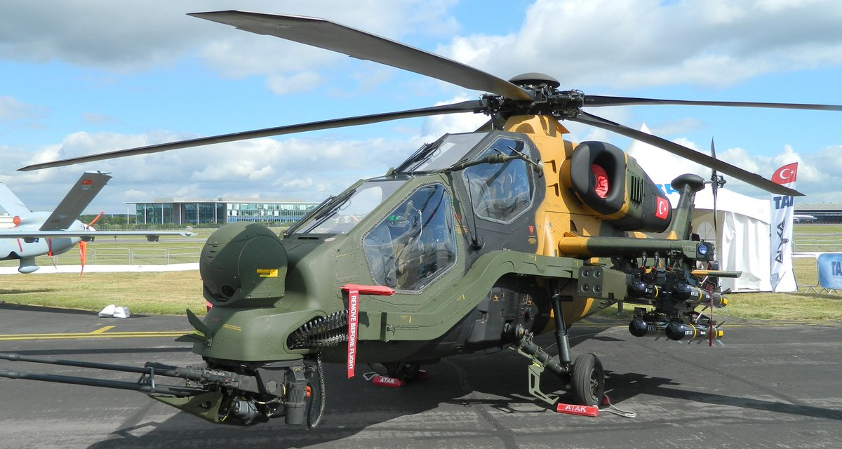 Turkish Army Aviation T-129 ATAK
