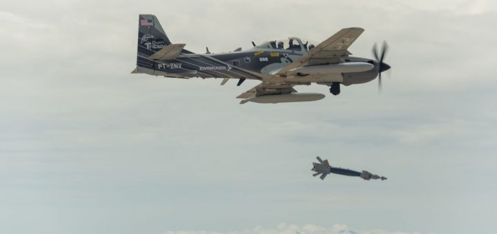 USAF A-29 Super Tucano Light attack plane
