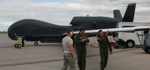 USAF RQ-4 Global Hawk 348th Reconnaissance Squadron