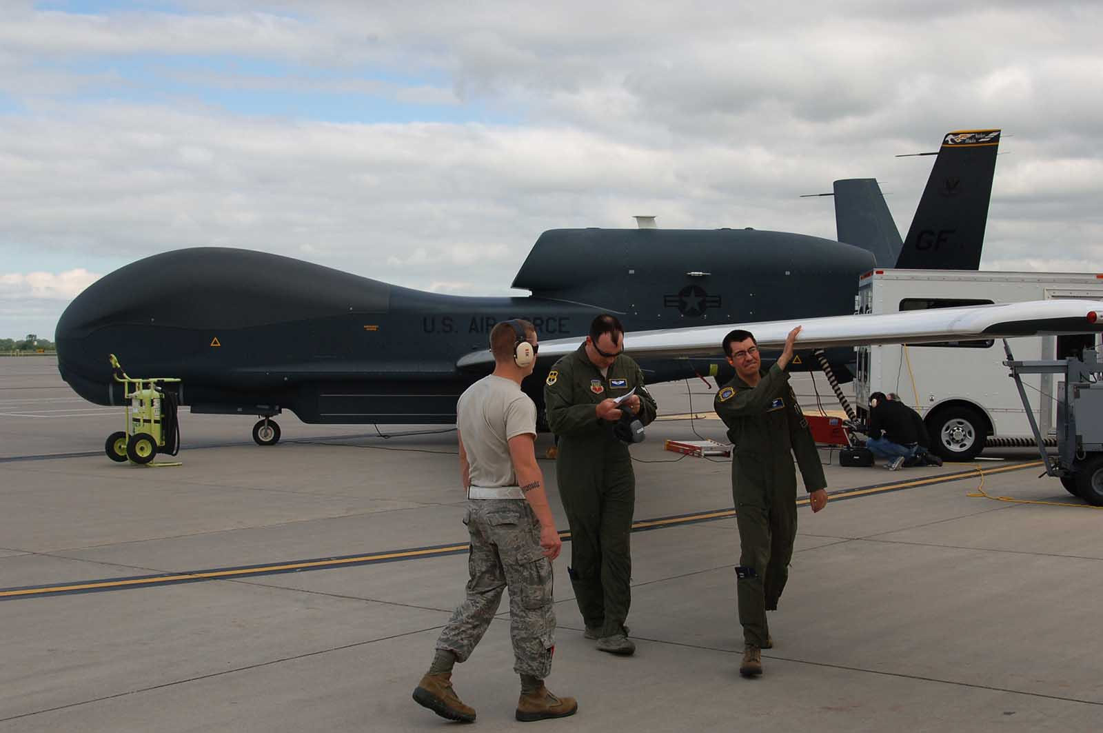 USAF RQ-4 Global Hawk 348th Reconnaissance Squadron