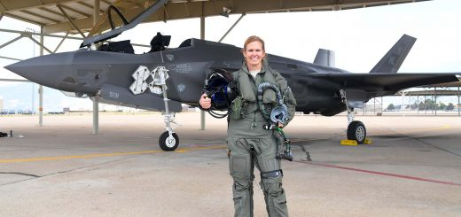 USAF Reserves first female F-35 pilot Col Gina Torch Sabric