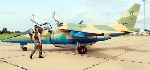 Nigerian Air Force Alpha Fighter Jet (NAF 477)