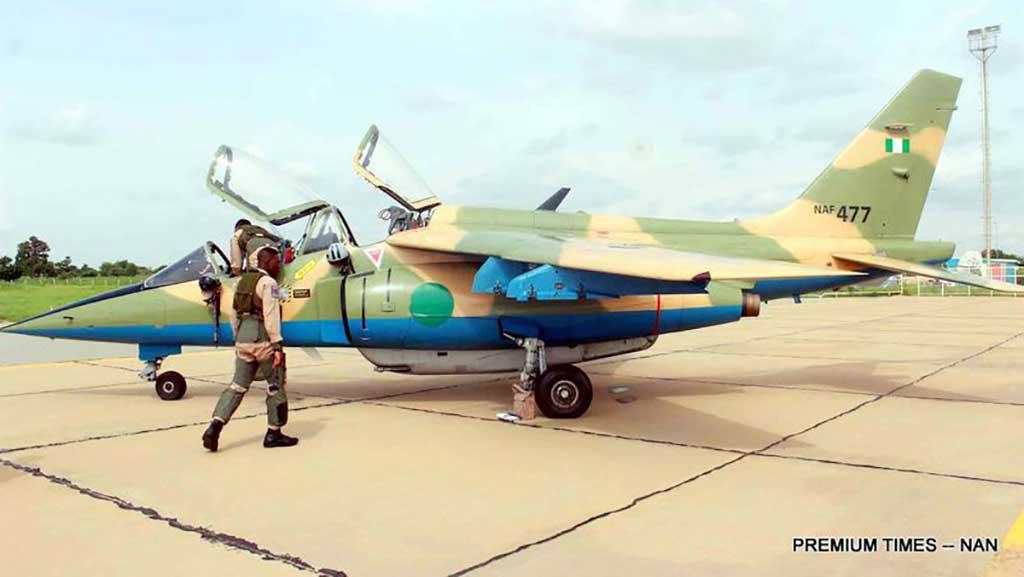 Nigerian Air Force Alpha Fighter Jet (NAF 477)