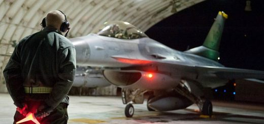 USAF F-16 Fighting Falcon during Exercise MaxThunder 2014