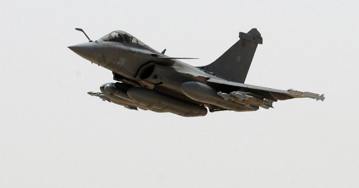Rafale jet fighter