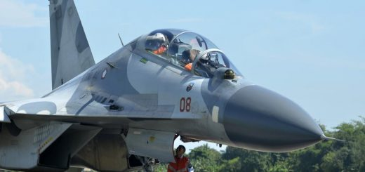 Indonesian Air Force (TNI AU) Sukhoi Su-30MKI
