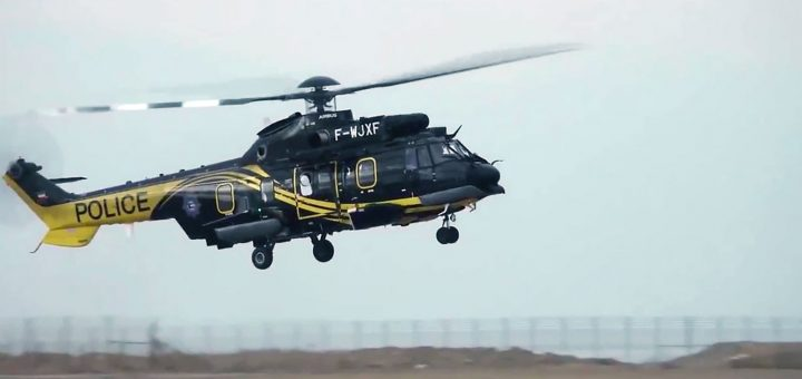 Kuwait Police Flying Wing Airbus Helicopters H225