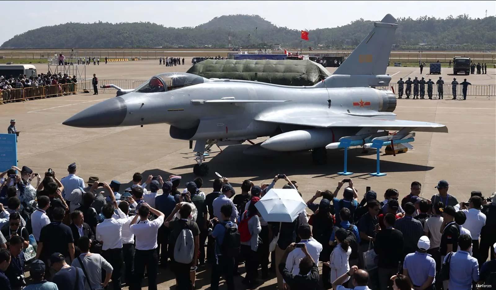 China new J-10 fighter jet