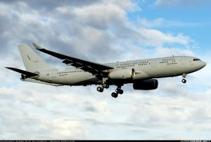 South Korean Air Force first Airbus A330 Multi Role Tanker Transport (MRTT)
