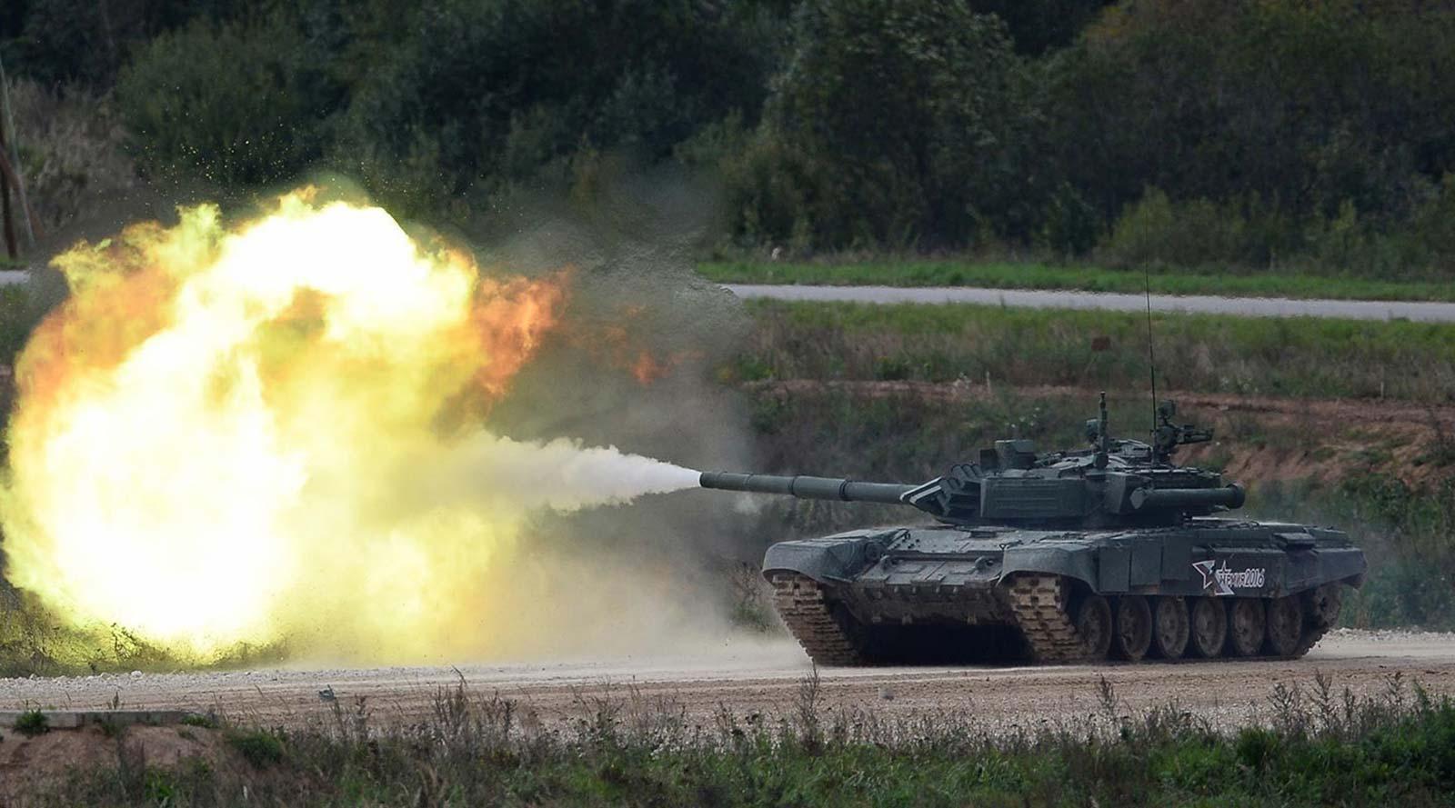 Russian Army T-90 Tank