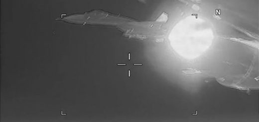 US Navy reports that a Russian SU-27 Flanker