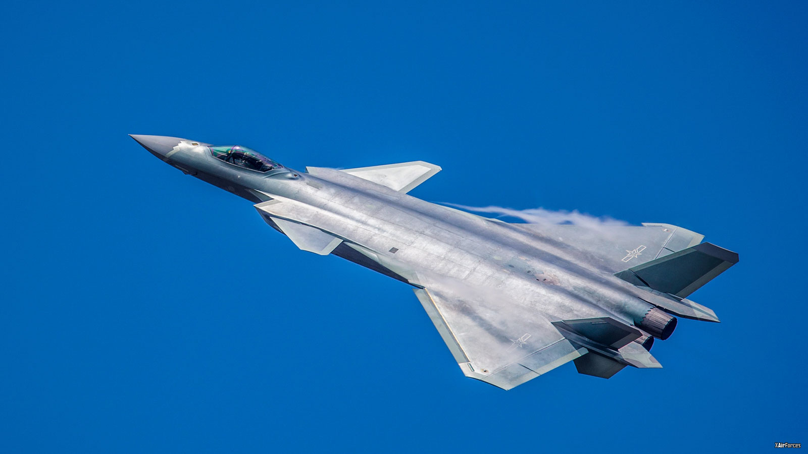 2018 Zhuhai Air Show Chinese J-20 Stealth Fighter Jet