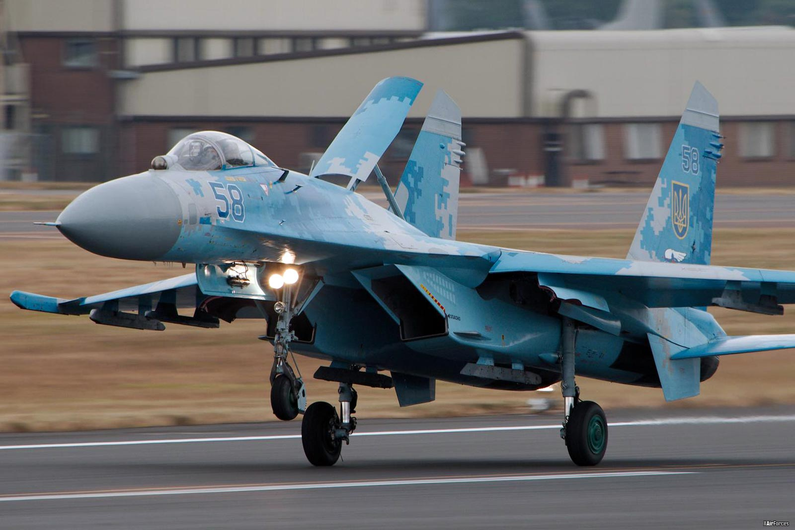 Ukrainian Air Force Sukhoi Su-27 (58)