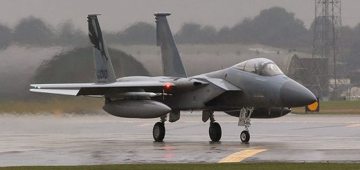 U.S. Air Force F-15E Strike Eagle in ANG Lakenheath
