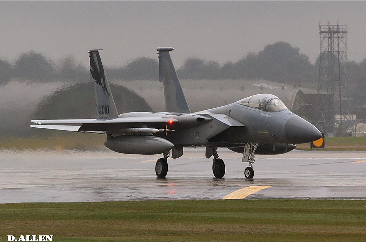 U.S. Air Force F-15E Strike Eagle in ANG Lakenheath