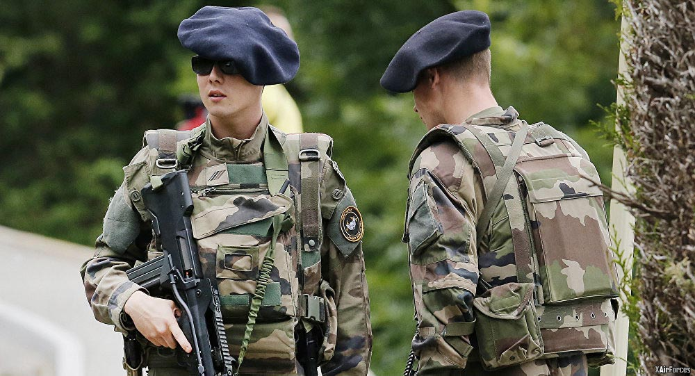 The French Army Soldiers will be deployed in Estonia.