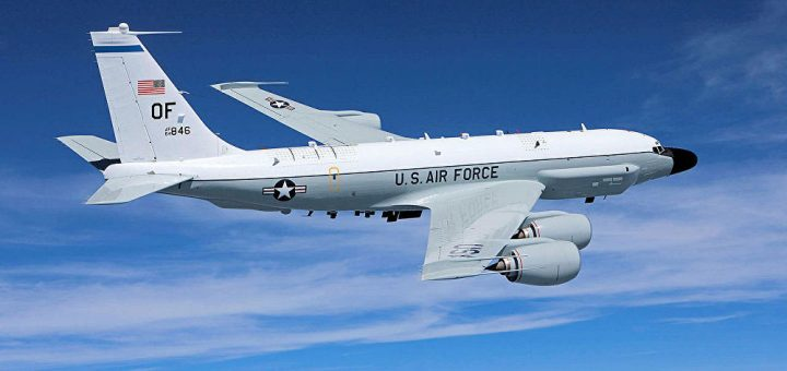 US Air Force Boeing RC-135V large