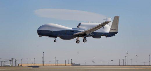 Northrop Grumman MQ-4C Triton flight testing