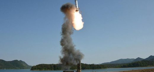 North Korea test fires 'missiles'