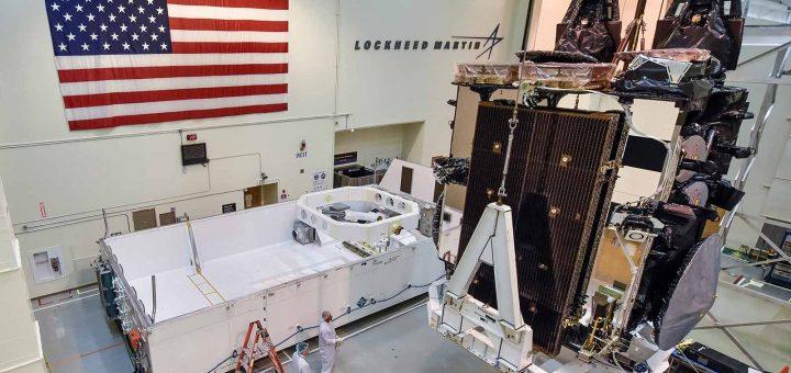 Lockheed Martin Built AEHF-SV5