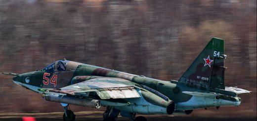 Russian Air Force Su-25SM (54)