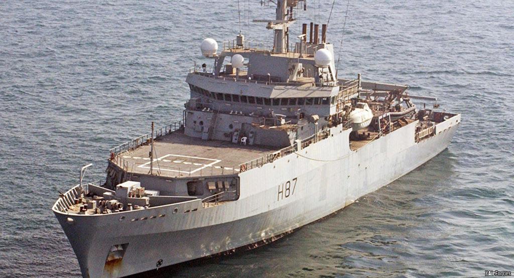 The Ukraine's Echo hydrographic survey ship