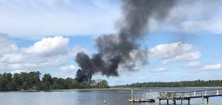 USMC F-35B crashes in South Carolina