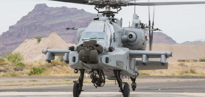 Indian Air Force First AH-64E (I) Apache Guardian