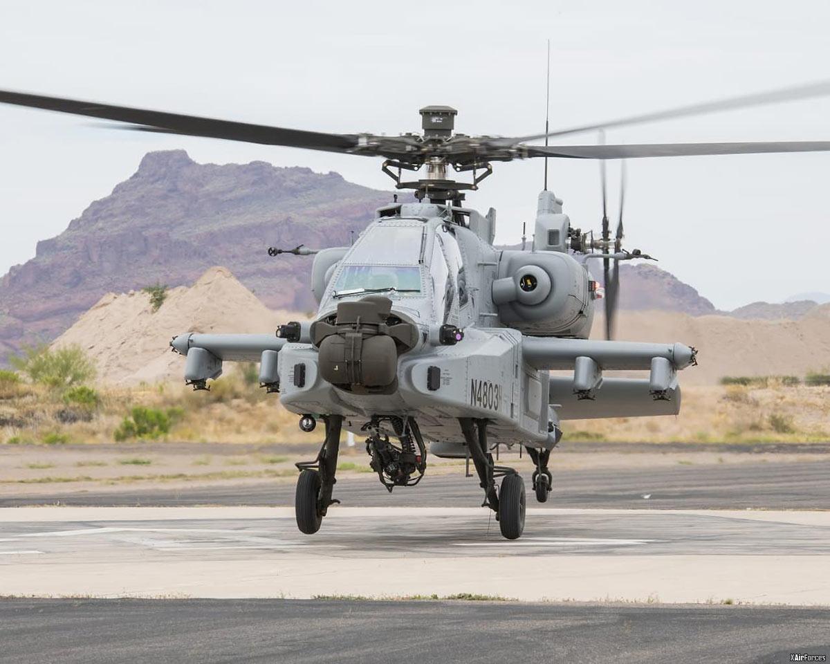 Indian Air Force First AH-64E (I) Apache Guardian