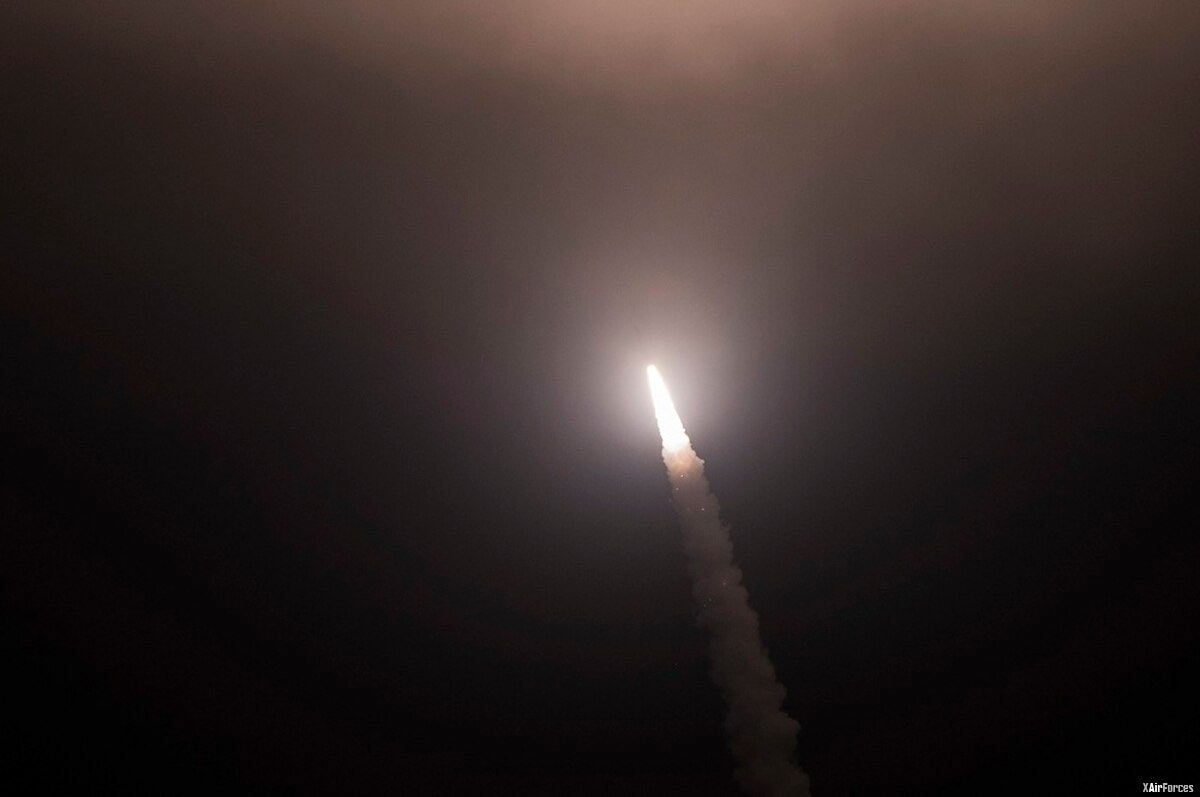 USAF test launches 2nd unarmed ICBM this month from Vandenberg