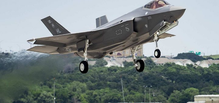 US Air Force's 400th F-35A Release