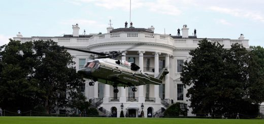 U.S. Marine Corps Sikorsky VH92A Presidential Helicopter