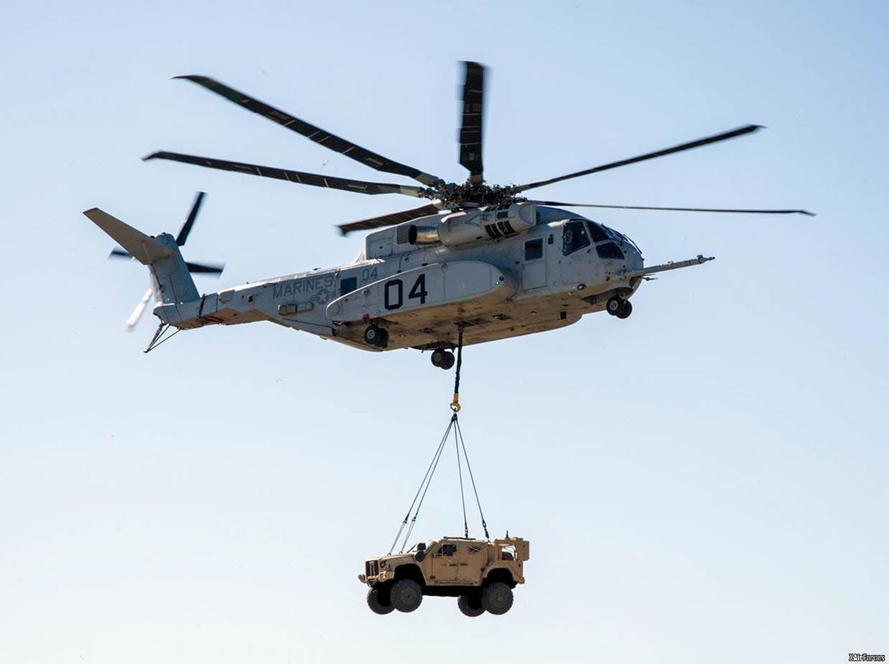 USMC Sikorsky CH-53K (04) Heavy Lift Helicopter.