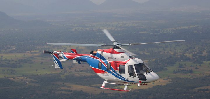 Ansat type civilian helicopter