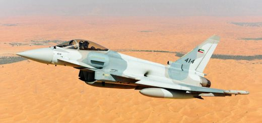 Kuwait Air Force Eurofighter Typhoon multi-role fighter aircraft