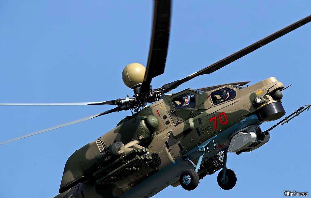 Russian Air Force Mi-28NM Night Hunter
