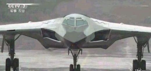 China Air Force (PLAAF) subsonic H-20 stealth bomber, 20 November 2020