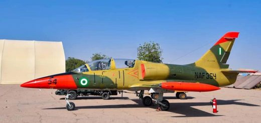 Nigerian Air Force L-39ZA (NAF-354), 27 November 2020