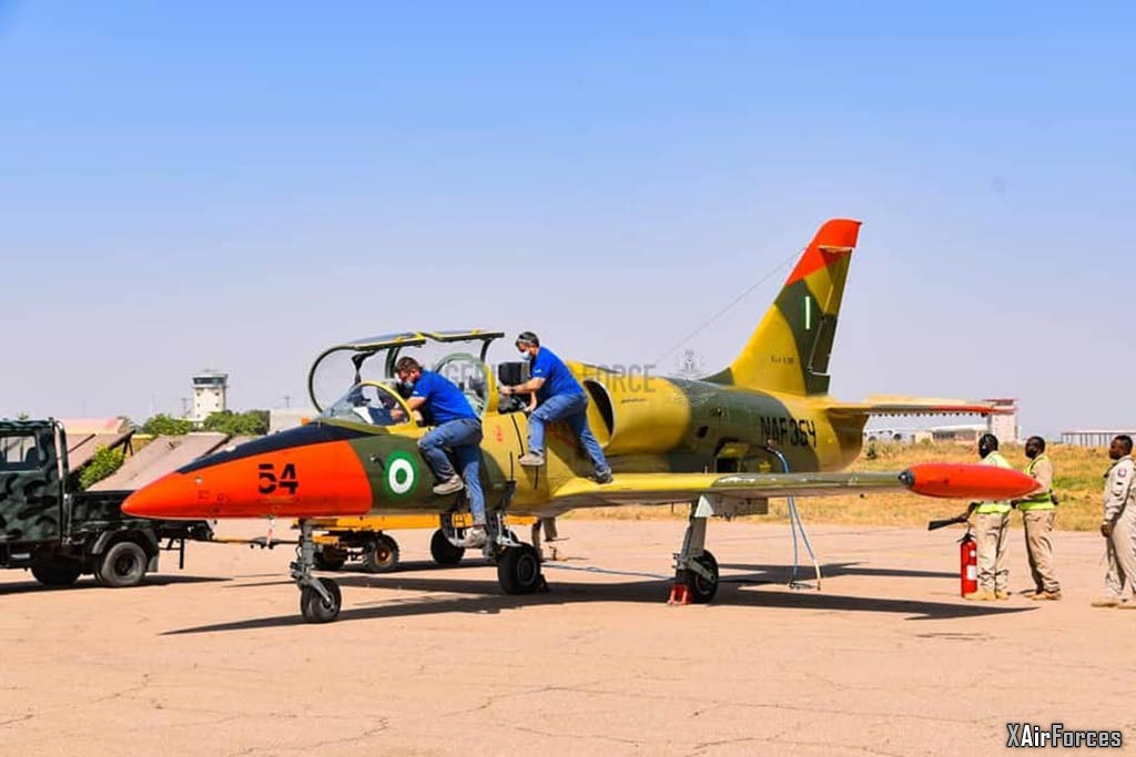 Nigerian Air Force L-39ZA (NAF-354), Reactivation, 27 November 2020