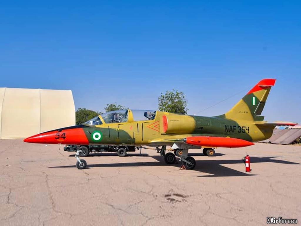 Nigerian Air Force L-39ZA (NAF-354), 27 November 2020