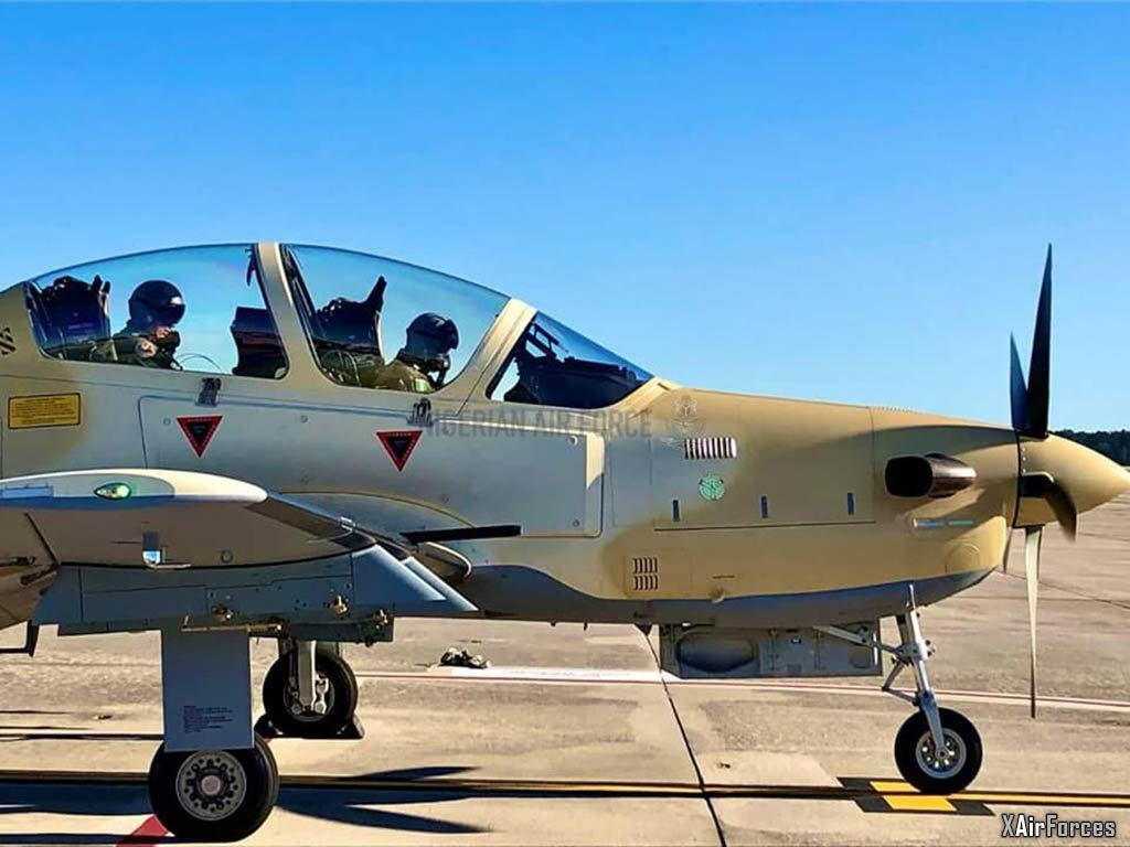 Nigerian Air Force A-29 Super Tucano, 30 November 2020