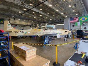 Nigerian Air Force A-29 Super Tucano (19-2037), 30 November 2020