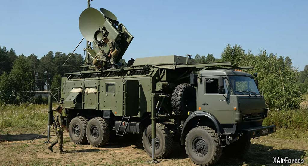 Russian Army Electronic Jammer Weapon System, 30 September 2020